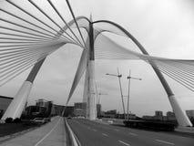 Modern bridge, Malaysia royalty free stock image