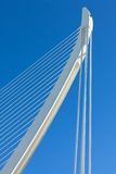 Modern bridge part Royalty Free Stock Photography
