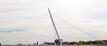 Modern bridge Stock Photography