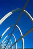 Modern bridge structure Stock Image