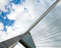 Modern Bridge Structure Stock Photos