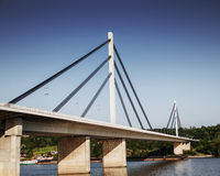 Modern bridge Stock Photography