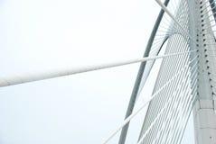 Modern bridge to get shape & lines Stock Photo