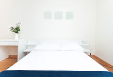 Modern bedroom Stock Photography