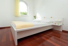 Modern bedroom Stock Photography