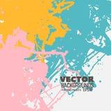 Modern bright colorful vector design Royalty Free Stock Photos
