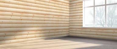 Modern bright interior . 3D render Stock Images