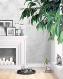 Modern bright interior . 3D rendering. Beautiful living room interior with fireplace. 3D rendering Stock Images
