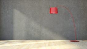 Modern bright interiors apartment 3D rendering illustration Stock Image