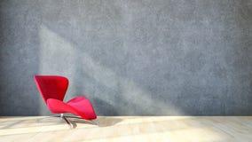 Modern bright interiors apartment 3D rendering illustration Stock Photo