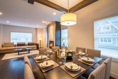 Modern bright kitchen interior Stock Photo