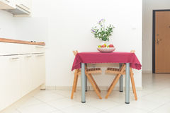 Kitchen table Royalty Free Stock Photography