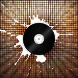 Modern bright music background Royalty Free Stock Photo
