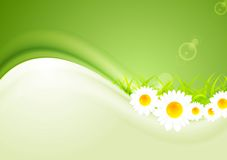 Modern bright summer background. Vector Royalty Free Stock Photography