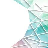 Modern Bright triangular window background Royalty Free Stock Photo
