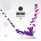 Modern bright vector inky wallpaper, eps8 blob Stock Photos