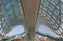 Modern bro - Georgia Arkivfoton