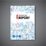 Modern brochure/boek/vliegerontwerpmalplaatje Stock Afbeelding
