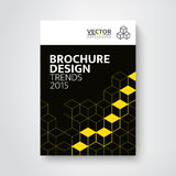 Modern brochure / book design template royalty free illustration