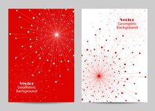 Modern brochure cover design Royalty Free Stock Images