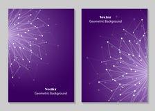 Modern brochure cover design Stock Image
