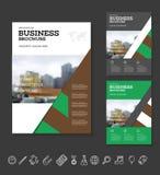 Modern Brochure design template Stock Photos