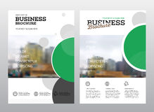 Modern Brochure design template. Annual report layout with photo place. illustration vector in A4 size Stock Photo