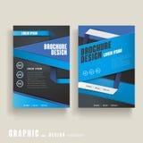 Modern brochure template vector illustration