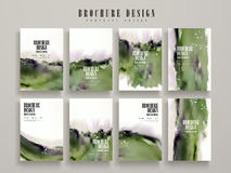 Modern brochure template Royalty Free Stock Photography