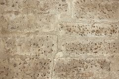 Modern brown concrete wall background texture Royalty Free Stock Photography
