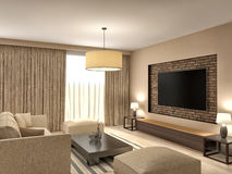 Modern Brown Living Room Stock Illustrations – 11,149 Modern Brown ...
