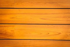 Modern brown pattern of teak wood. Royalty Free Stock Photo
