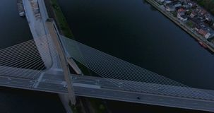 Modern brugfragment stock videobeelden