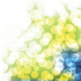 Modern Bubbles Background Stock Images