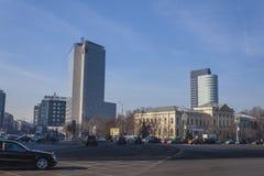 Modern Bucharest Stock Images