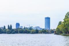 Modern Bucharest Royalty Free Stock Image