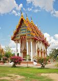 Modern Buddhist church in Sukhothai, Thailand Royalty Free Stock Photos