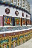 Modern Buddhist Stupa Royalty Free Stock Images