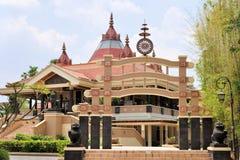 Modern buddistisk tempel, solo, Java, Indonesien Fotografering för Bildbyråer