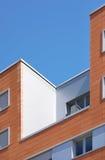 Modern buiding facade with ceramic blocks Royalty Free Stock Photo