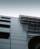 Modern Building 1. Small moder building Royalty Free Stock Photo