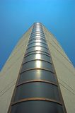 Modern building. Upwards view of a modern circular building, Italy Royalty Free Stock Images