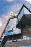 Modern building. Modern corporate building made of glass and concrete royalty free stock images