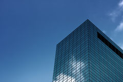 Modern building. Close-up shot of the modern building in the Rotterdam, the Netherlands Royalty Free Stock Image