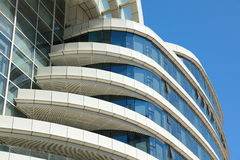 Modern building. Details of modern a building Stock Photo