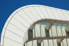 Modern building. Detail of a modern building Stock Images