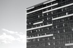 Modern building. A fragment of the modern building Stock Image