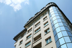 Modern building. In Bulgaria on the sky Stock Images
