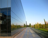 Modern building. In the business park Royalty Free Stock Image