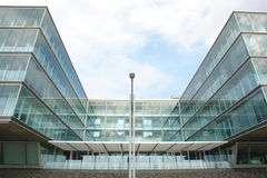 Modern building. In Hamburg harbor royalty free stock photography